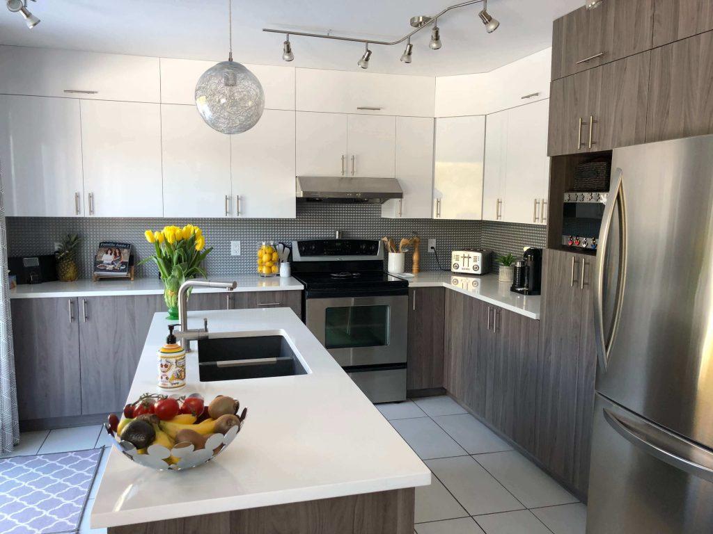 Fabriquer Des Portes D Armoires De Cuisine wrap ma cuisine | resurfacer vos portes d'armoires de cuisine